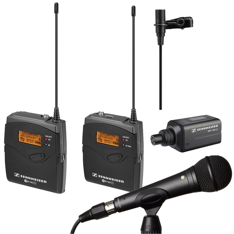 Sennheiser EW100ENGG3-A Wireless Microphone System A (516-558 MHz) & Rode M1 Microphone
