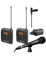 Sennheiser EW100ENGG3-B Wireless Microphone System B (626-668 MHz) & Rode M1 Microphone