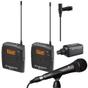 Sennheiser EW100ENGG3-G Wireless Microphone System G (566-608 MHz) & Rode M1 Microphone