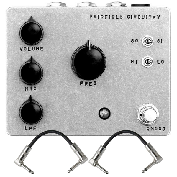 Fairfield Circuitry Randy's Revenge Ring Modulator Guitar Effects Pedal with Patch Cables