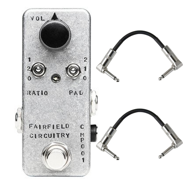 Fairfield Circuitry The Accountant Compressor Guitar Effects Pedal with Patch Cables