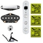 "Fishman Fluence Greg Koch ""Gristle-Tone"" Telecaster Pickup Set with Strings and Capo"