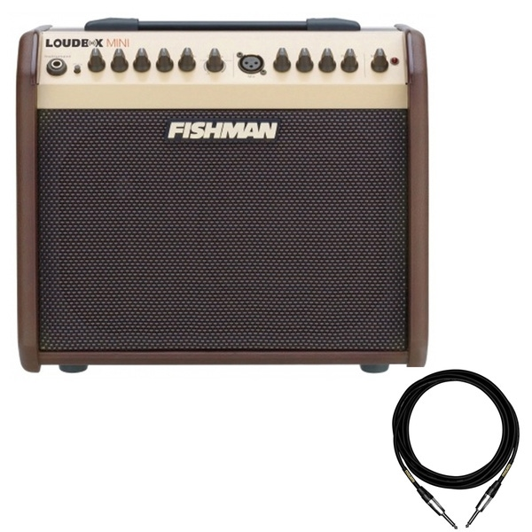 Fishman Loudbox MINI Acoustic Amplifier with 10ft Mogami Cable