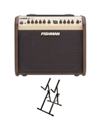 Fishman Loudbox Mini PRO-LBX-500 Acoustic Amplifier with Ultimate Support Amp Stand