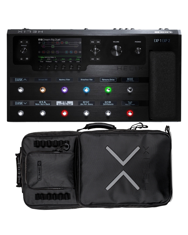 Line 6 Helix Guitar Multi-effects Processor and Backpack Bundle