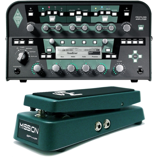 Kemper Profiler Power Amplifier Head + Mission Engineering Expression Pedal