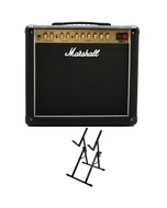 "Marshall DSL20CR 1x12"" Tube Guitar Combo Amplifier with Ultimate Support Amp Stand"