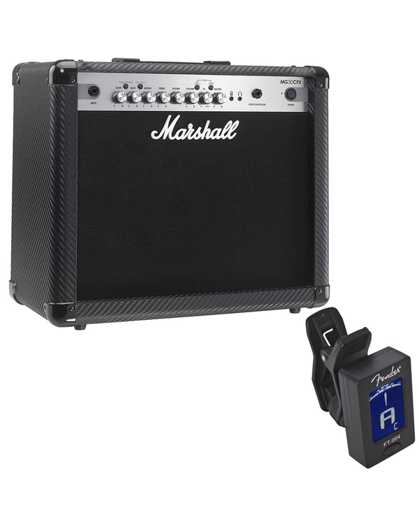 Marshall MG Series MG30CFX 30W 1x10 4-Channel Guitar Combo Amp with Free Tuner