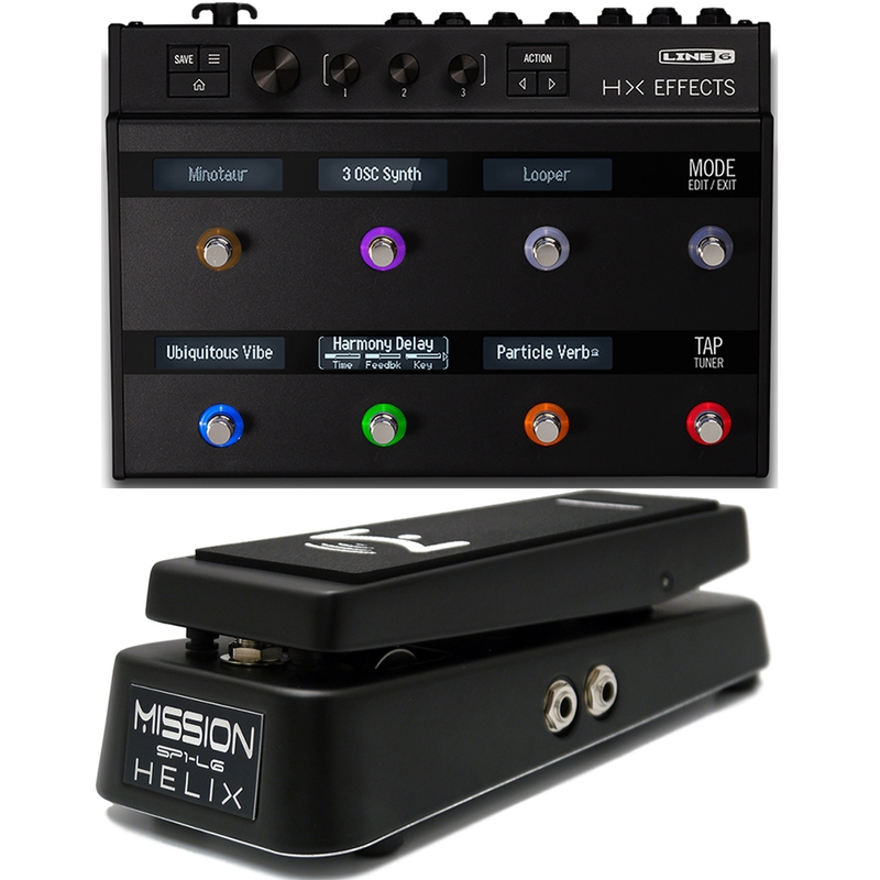 Line 6 HX Effects Processor w/ Mission Engineering Expression Pedal