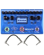 Mooer Ocean Machine Devin Townsend Signature Guitar Effects Pedal with Patch Cables