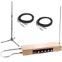 Moog Etherwave Plus Theremin (Ash) Performer Bundle with Stand and Cables