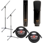 MXL 440/441 Pack With Mic Stands And Cables