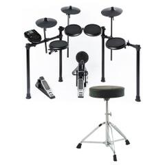 Alesis Nitro 8-Piece Electronic Drum Kit with Throne