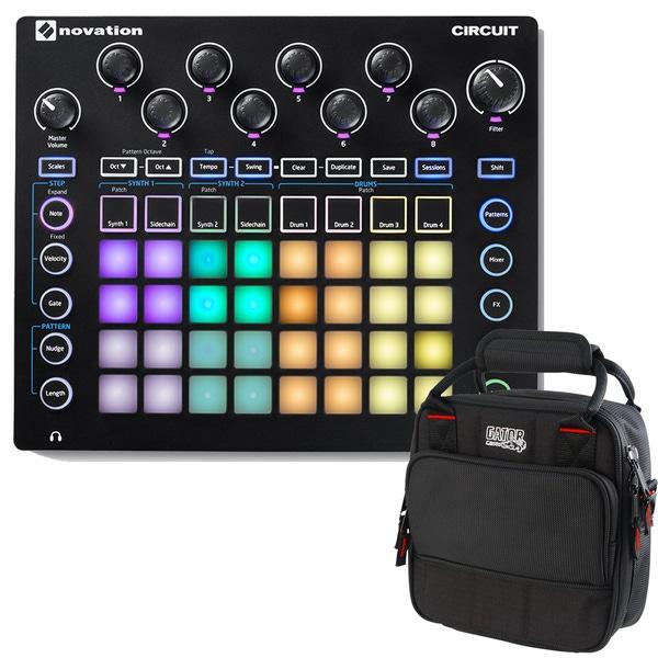Novation Circuit Groove Box and Carry Bag Bundle