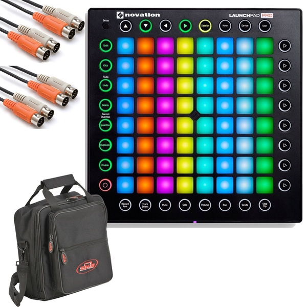Novation Launchpad Pro USB MIDI Controller with Cables and Carry Bag