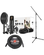 Rode NT1 KIT Complete Recording Microphone Kit with XLR Cable and Stand