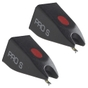 2-Pack of Ortofon Pro S Spherical Replacement Stylus (Black)