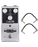 Origin Effects 76-C Cali76 Compact Compressor Guitar Effects Pedal with Patch Cables