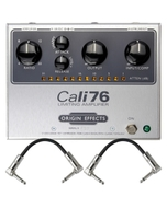 Origin Effects CALI76-TX-L Cali76 Transformer Lundahl Compressor Guitar Effects Pedal with Patch Cables