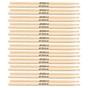 12 Pairs of LA Special LA5AW Size 5A Wood Tip Drum Sticks