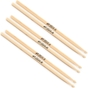 3 Pairs of LA Special LA5AW Size 5A Wood Tip Drum Sticks