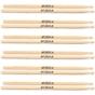 6 Pairs of LA Special LA5AW Size 5A Wood Tip Drum Sticks