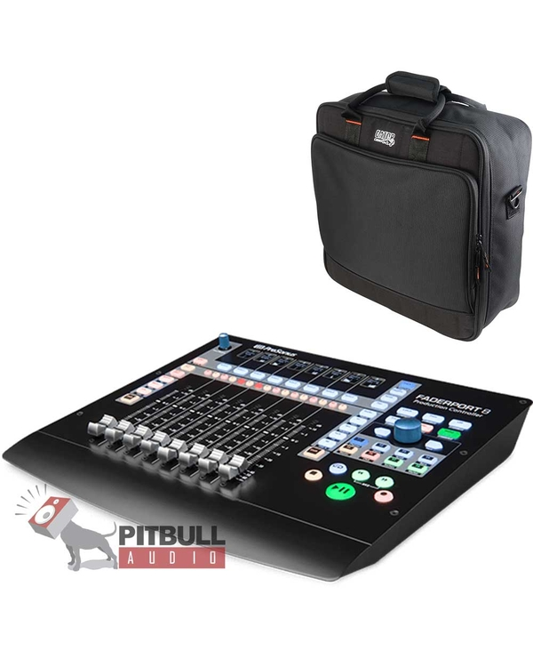 PreSonus FaderPort 8 - 8-channel Mix Production Controller with Gator Mixer Bag