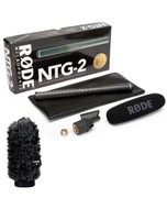 Rode NTG2 Shotgun Microphone with FREE WS6 Deluxe Windshield