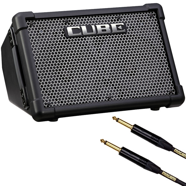 Roland CUBE Street EX Guitar Combo Amp with 10' Mogami Instrument Cable
