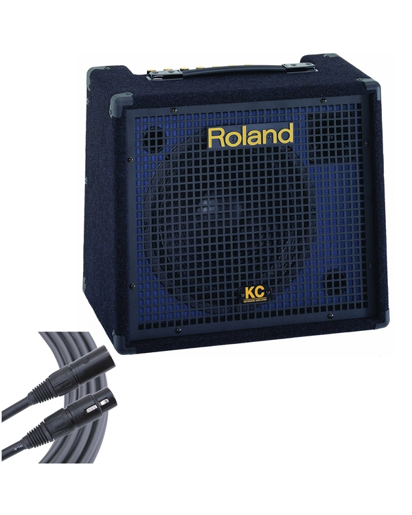 Roland KC-150 4-Ch 65W Stereo Keyboard Amplifier + 6' Mogami Microphone Cable