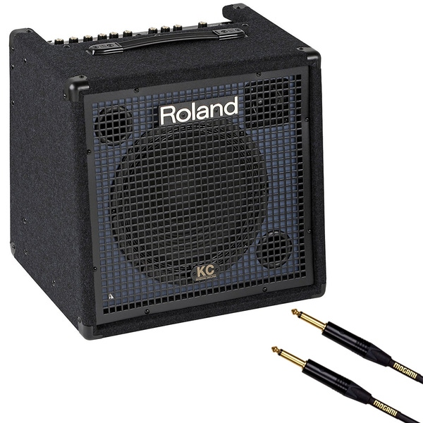 Roland KC-350 4-Ch 120W Keyboard Amplifier + 10' Mogami Gold Instrument Cable