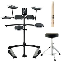 Roland TD-1K Electronic Drum Kit with Throne and Sticks