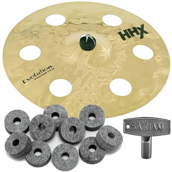 Sabian 11600XEB HHX Series Evolution O-Zone Crash Cymbal 16