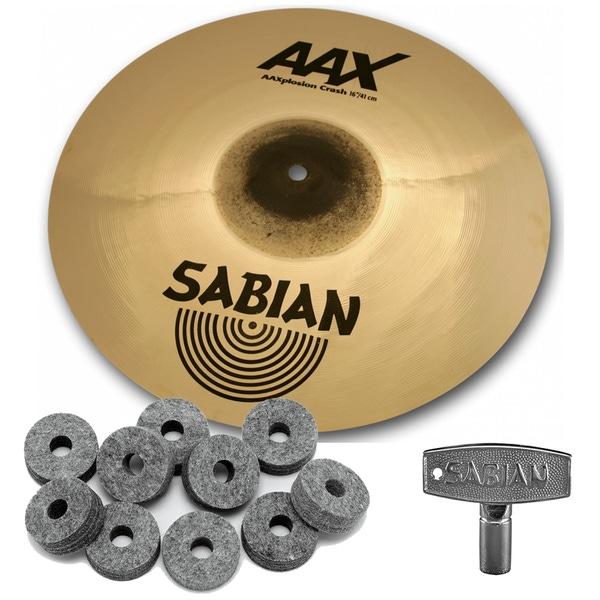 Sabian 21687XB AAX Series X-Plosion Crash Cymbal 16