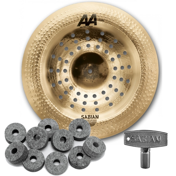 Sabian 21716CS AA Series Holy China Cymbal 17