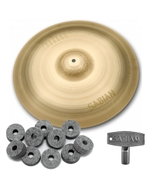 "Sabian NP1608N Neil Peart Paragon Crash Cymbal 16"" with FREE Drum Key and Extra Felts"
