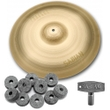 """Sabian NP1608N Neil Peart Paragon Crash Cymbal 16"""" with FREE Drum Key and Extra Felts"""