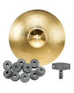 """Sabian NP1708N Neil Peart Paragon Crash Cymbal 17"""" with FREE Drum Key and Extra Felts"""