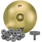 """Sabian XSR2112B XSR Series Ride Cymbal 21"""" with FREE Drum Key and Extra Felts"""