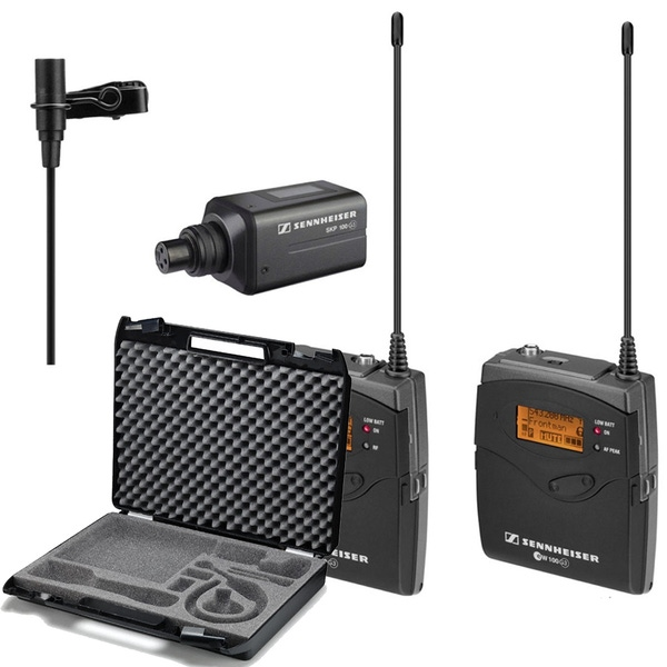 Sennheiser EW 100 ENG G3 Wireless Microphone System (Band-A: 516-558 MHz) with CC3 Carry Case