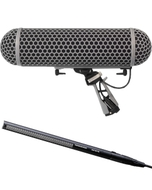 Sennheiser MKH416 Shotgun Mic and Rode Blimp 2 Windshield Kit