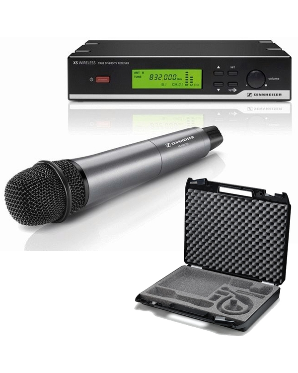 Sennheiser XSW 35-B Wireless Microphone System with CC3 Carry Case