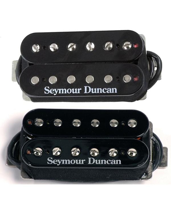 Seymour Duncan SH-5 Custom Bridge & SH-2n Jazz Neck Humbucker Pickups Black Set