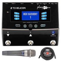 TC Helicon VoiceLive Play Acoustic Guitar/Vocal Effects Processor with enCore 100 Microphone and XLR Cable