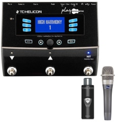 TC Helicon VoiceLive Play Acoustic Effects Processor with MCA100 Adapter and Blue enCORE 100 Microphone