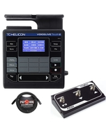 TC Helicon VoiceLive Touch 2 Vocal Effects Processor with Digitech FS3X Footswitch and Cable