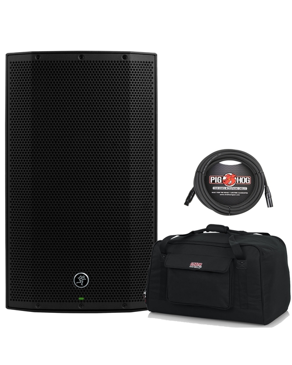 Mackie Thump TH-12A 1300W Powered Speaker with Gator Bag + XLR Cable