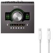 Universal Audio Apollo Twin MKII DUO Heritage Edition Thunderbolt Interface with Thunderbolt Cable