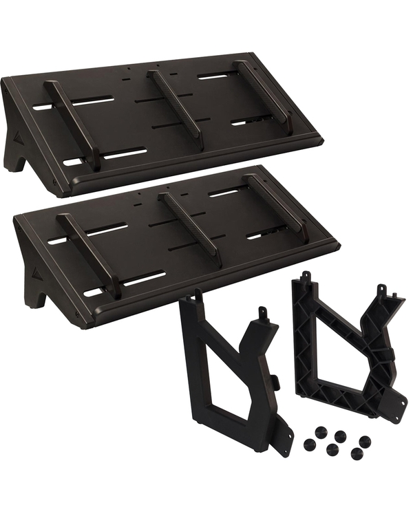 Ultimate Support MDS-100 Modular Desktop Stands (Pair) and MDS-X Expander