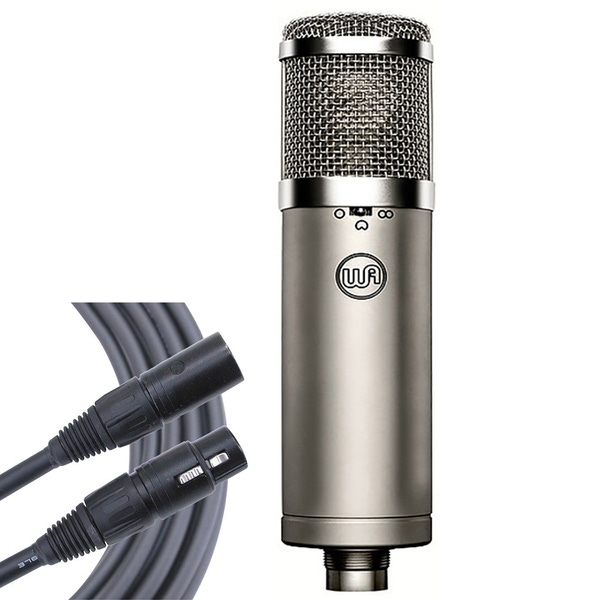 Warm Audio WA-47jr FET Condenser Microphone with 6ft Mogami Gold Studio XLR Cable